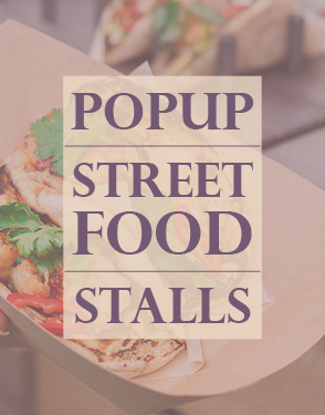 Carlicious Popup Street Food Stalls