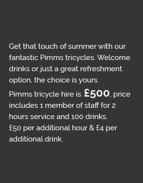 Carlicious Pimms Tricycle info