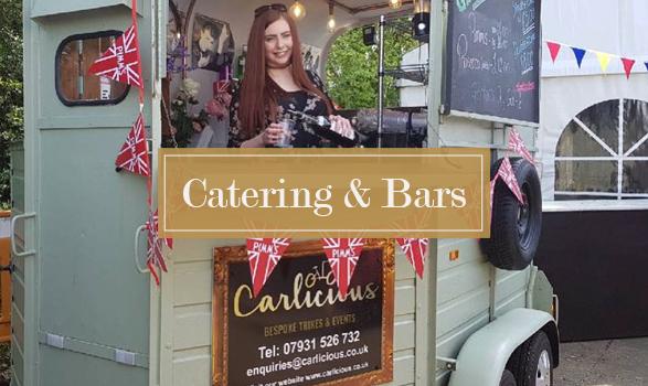 Carlicious Horsebox bar at outdoor event