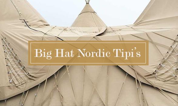 Close up of Carlicious Big Hat Nordic Tipis