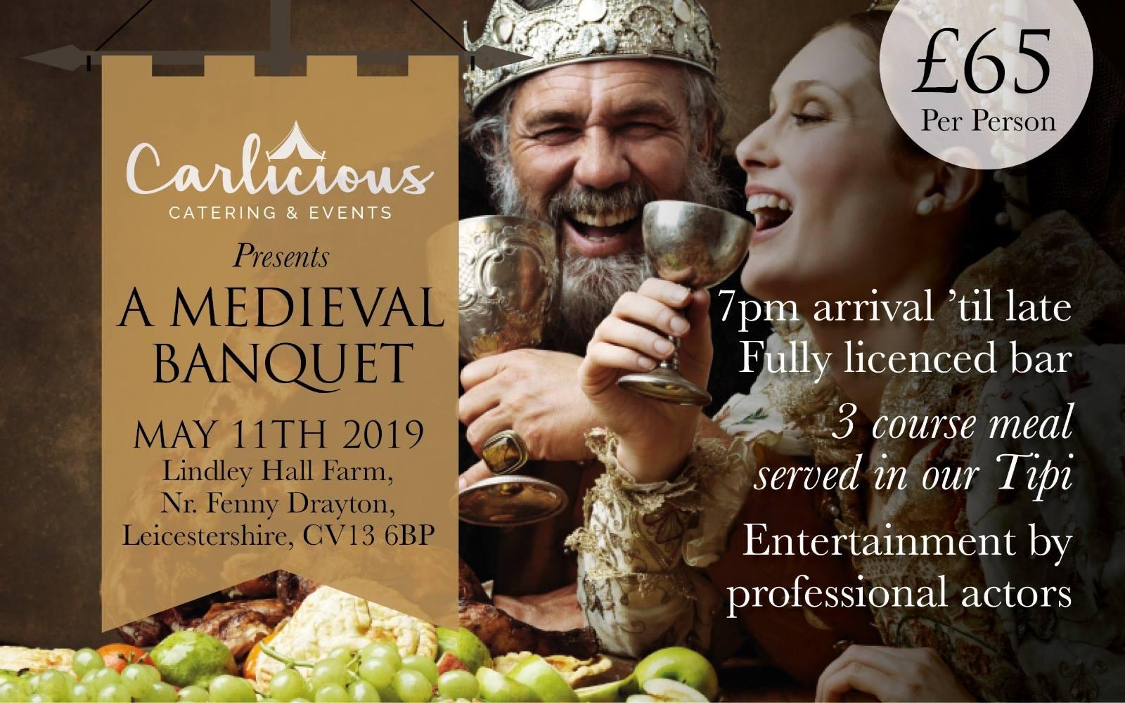 Carlicious Medieval banquet